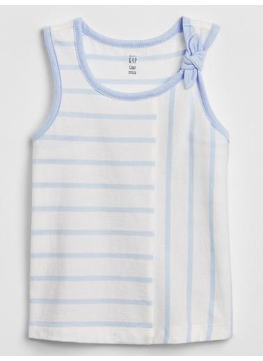 Gap Fiyonk Detaylı Bluz Mavi
